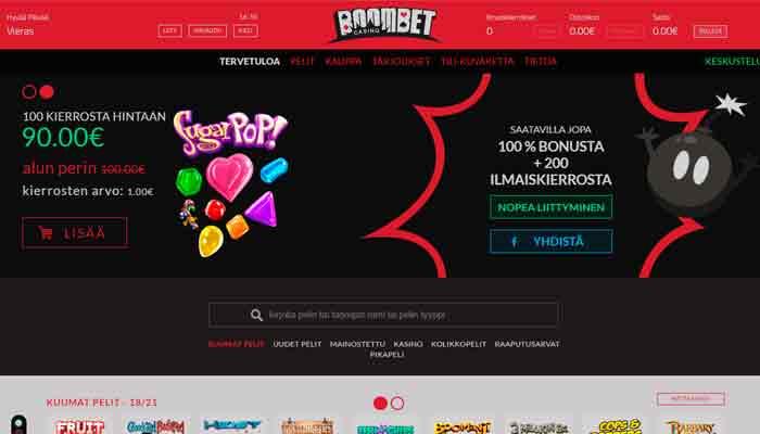 Boombet kasino
