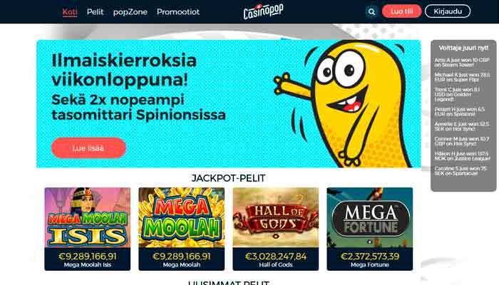 CasinoPop kasino