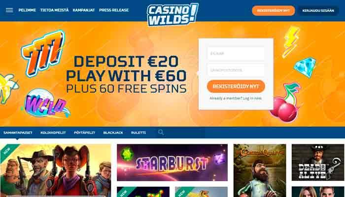 CasinoWilds kasino