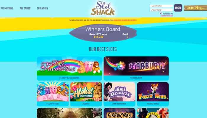 Slot Shack kasino