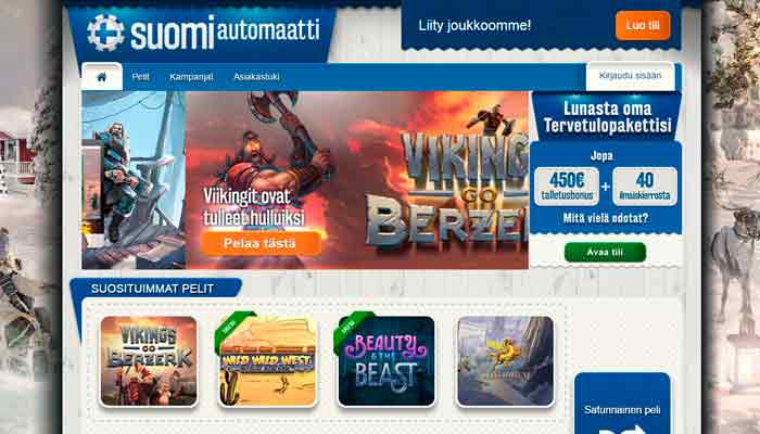 Suomiautomaatti kasino
